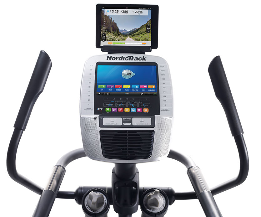 nordictrack act 10 commercial elliptical with ifit live