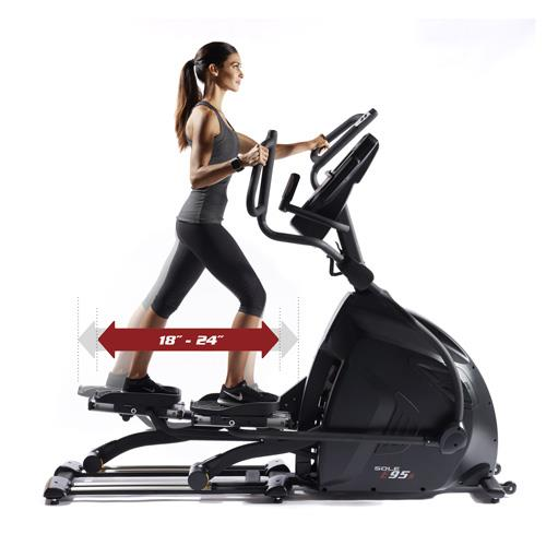 sole e95S elliptical review