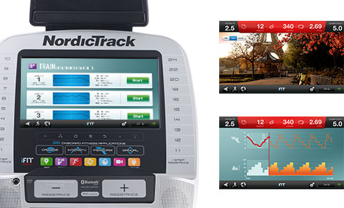 nordictrack act 10 commercial elliptical review with ifit live