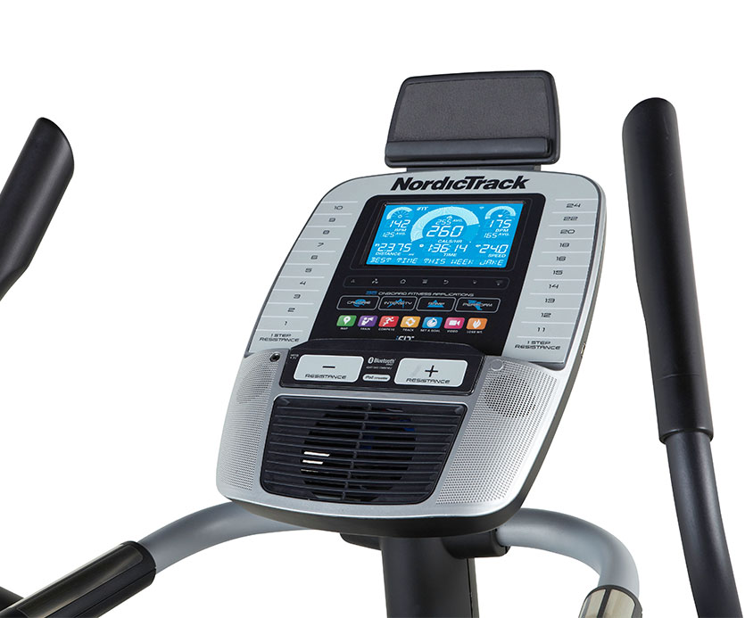 act commercial elliptical review - console