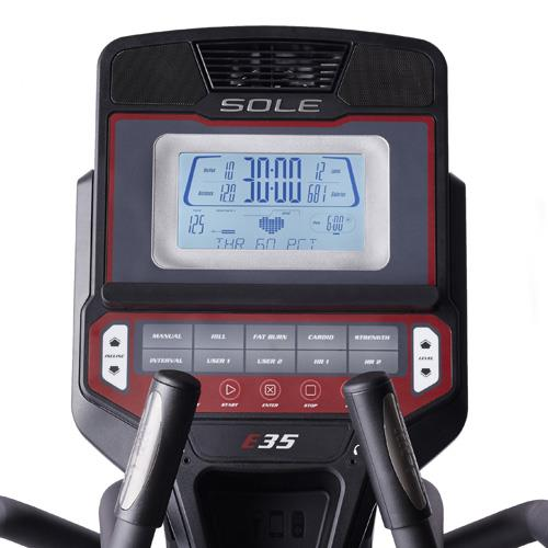 sole e35 elliptical trainer review