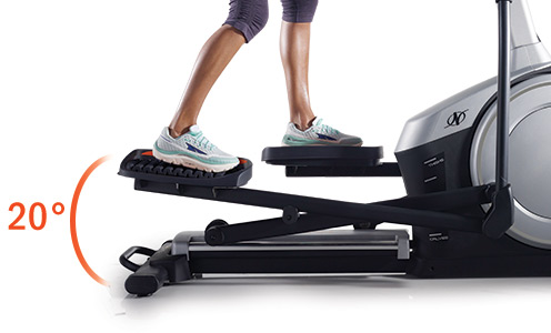 nordictrack c 7.5 elliptical incline