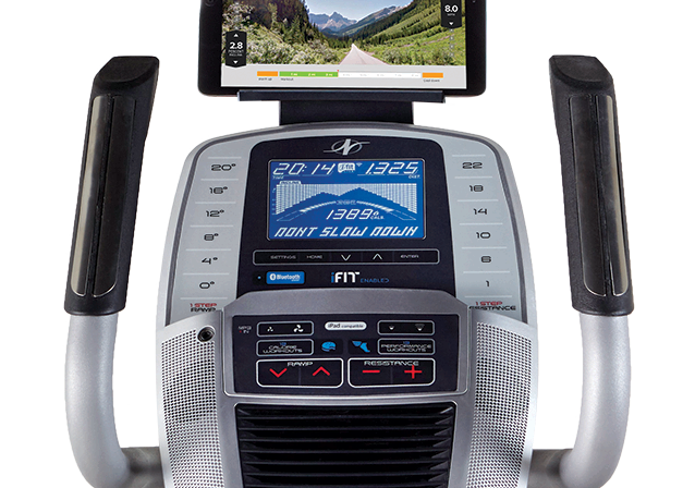 nordictrack c 7.5 elliptical review - console