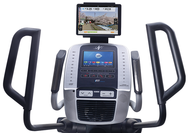 nordictrack c 9.5 elliptical review - console