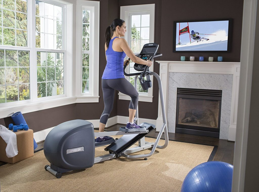 precor efx 221 elliptical review