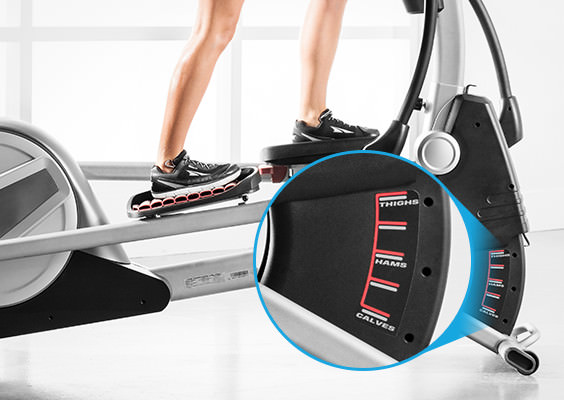 proform 895 CSE elliptical review with incline
