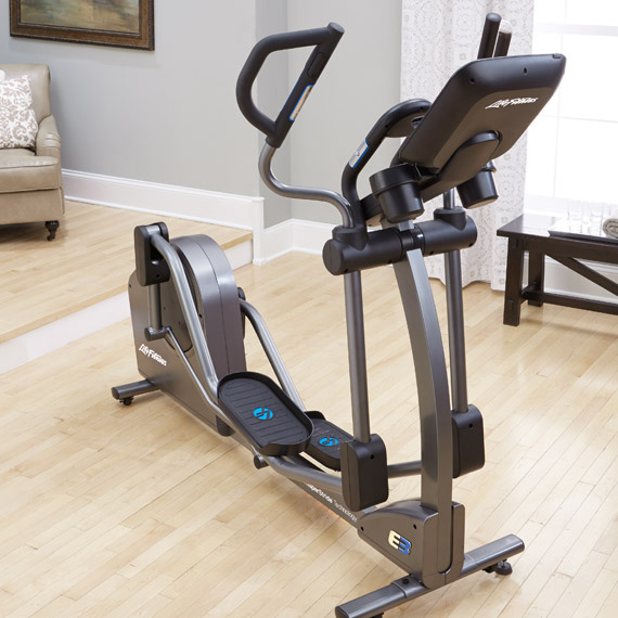 life fitness e3 elliptical trainer review