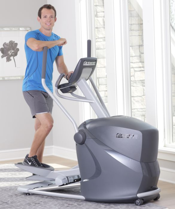 octane q35 elliptical trainer review