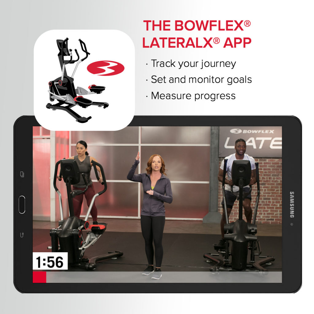 bowflex lateralx elliptical app