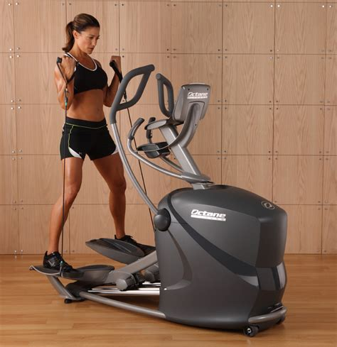 octane q37 elliptical trainer review