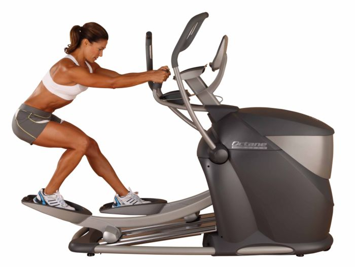 octane q47 elliptical trainer review