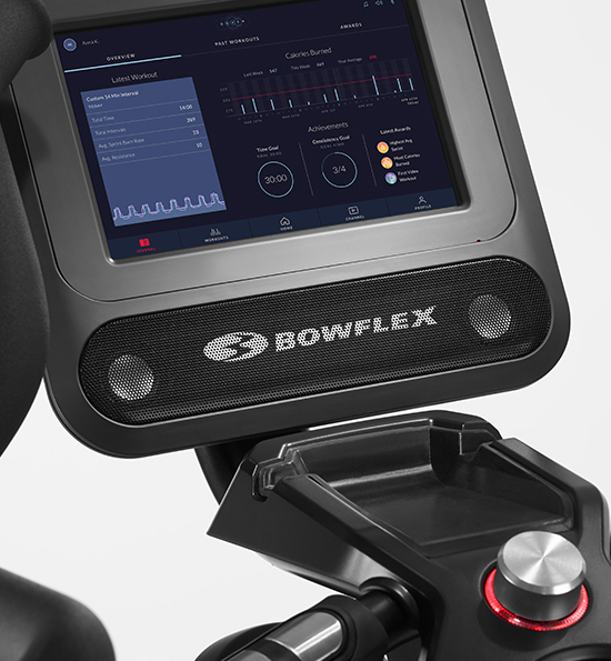 Console on the Bowflex Max Total Trainer