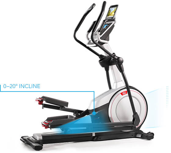 proform 720 E elliptical trainer with incline