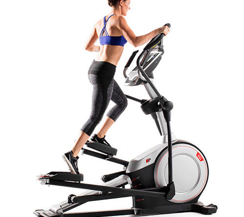 how to work an elliptical