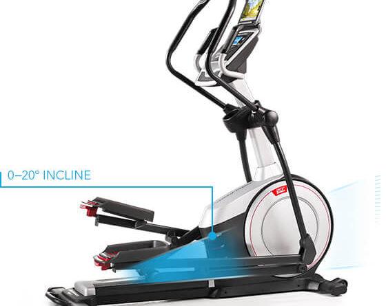 proform 720 E elliptical trainer with incline